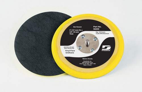 Dynabrade Value Random Orbital Disc Pads (Low-Profile Urethane Construction, 13,000 RPM Max.)