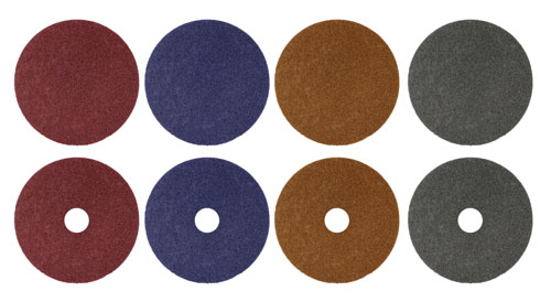 Surface Conditioning Discs | Premium & Premium Plus Ceramic | Hook & Loop | No Hole & With Arbor Hole