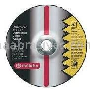 Metabo Abrasives 616795000 7x1/8x7/8 ZA24T - Cutting Wheel For Steel - Stainless Steel Type 27