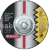 Metabo Abrasives 655795000 7x1/8x5/8-11 ZA24T -  Cutting Wheel For Steel - Stainless Steel