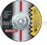 Metabo Abrasives 655796000 9x1/8x5/8-11 ZA24T -Cutting Wheeel  For Steel - Stainless Steel