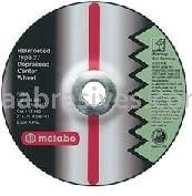 Metabo Abrasives 616760000 7x1/4x7/8 A36M - Grinding Wheel For Aluminum Type 27